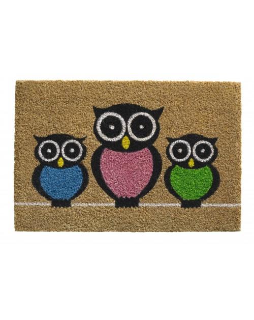 Otirač Ruco Print OWLS